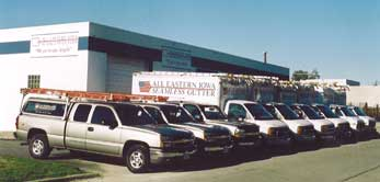 Photo of All Eastern Iowa Seamless Gutter Truck Fleet